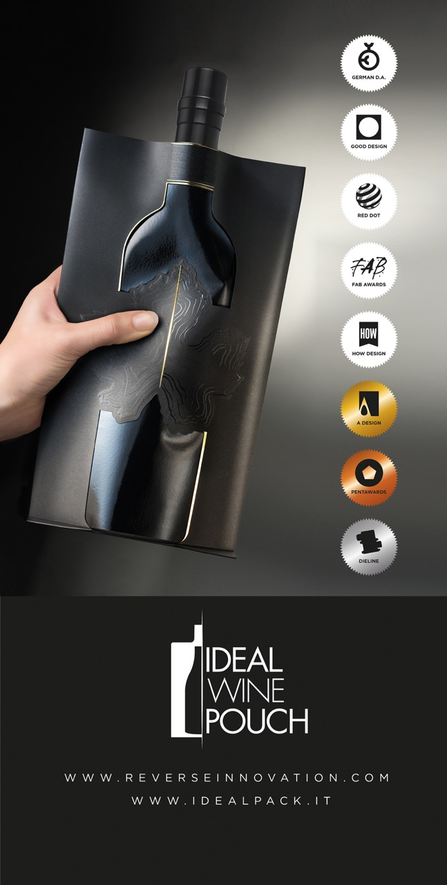 Idealpack - IDEAL WINE POUCH : when a \